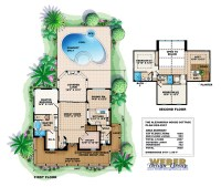 House Plans With Pool Ranch House Plans With A Courtyard ...