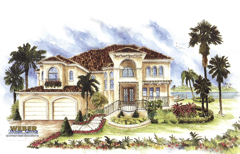 Fullsize Of Spanish Style House