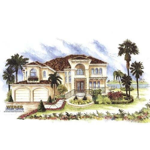 Medium Crop Of Spanish Style House