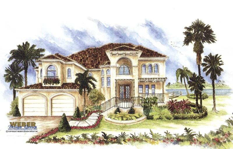 Large Of Spanish Style House