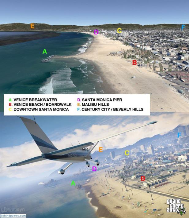 GTA 5 gercek harita webeyn 1 GTA 5in Haritası Gerçeğe Çok Benziyor