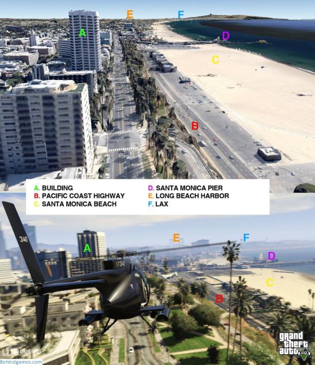 GTA 5 gercek harita webeyn 2 GTA 5in Haritası Gerçeğe Çok Benziyor