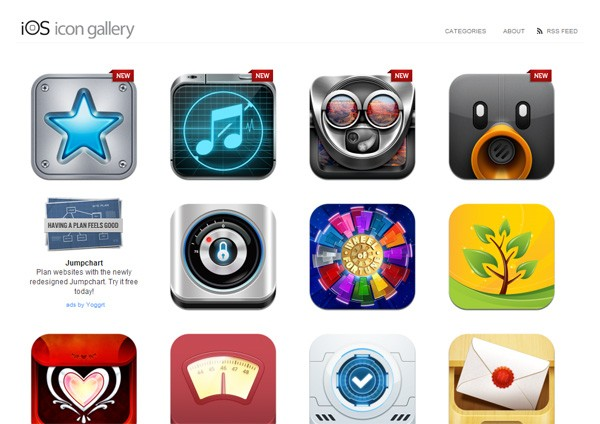 10 Websites for Finding iOS App Icon Design Inspiration