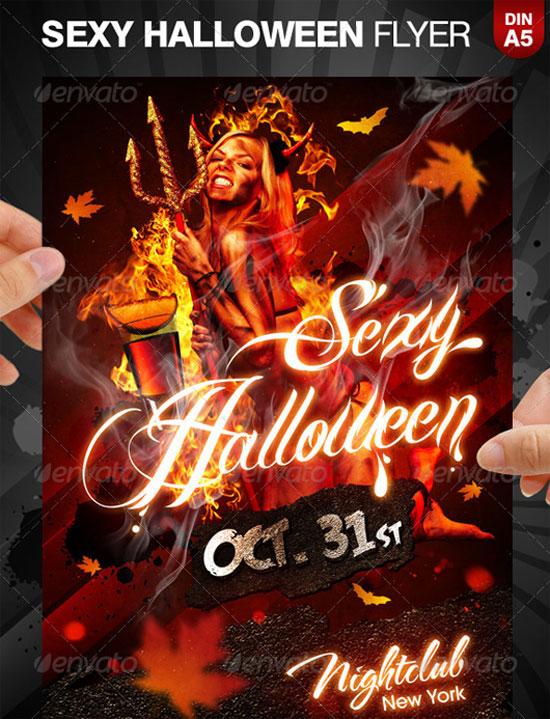 Flyer Templates List of Top 30 Flyer Templates for Advertisements - blank halloween flyer templates