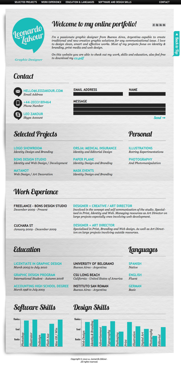 Resume Format Template View HD Image of Resume Format Template 31336
