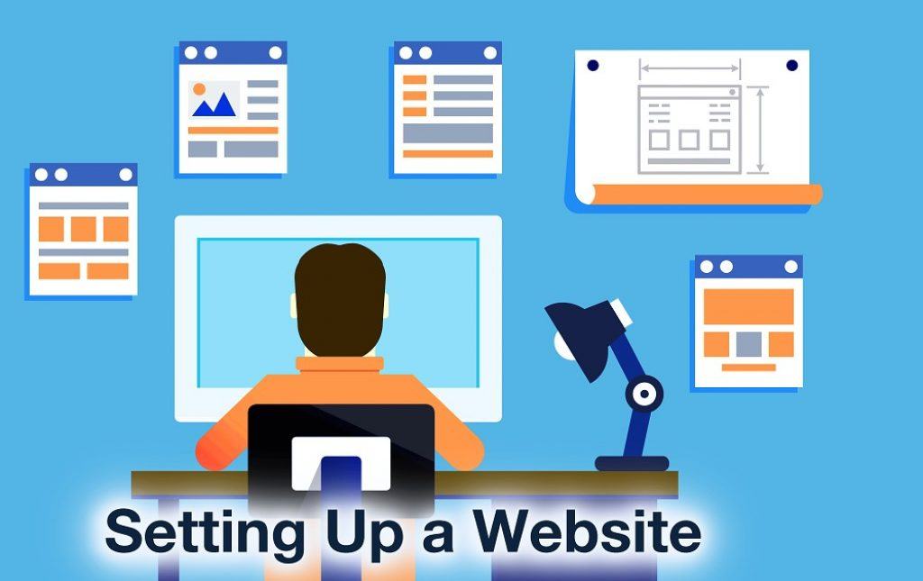 setting up a website