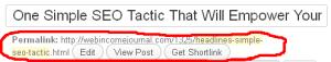 shorten blog title example