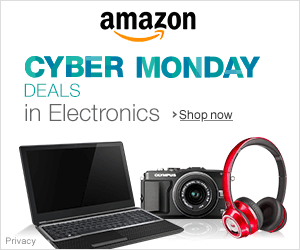 Shop Amazon - Cyber Monday Deals in Electronics