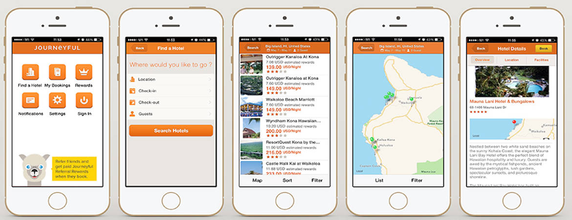 The Wrap Journeyful takes hotel booking mobile with new app - WIT - booking app