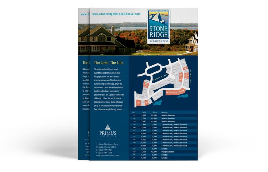 Flyer Design Sell Sheet Design Sales Sheets Chicago