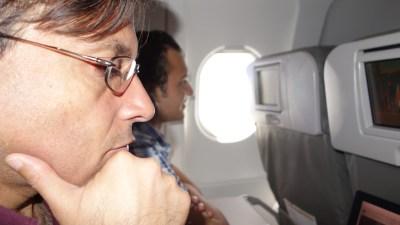 Flyin' and thinkin'