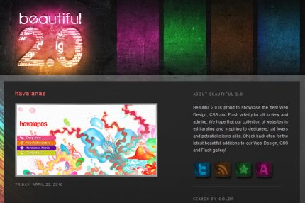 beautiful2 homepage
