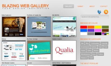 blazingwebgallery homepage
