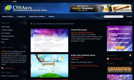 cssarts homepage