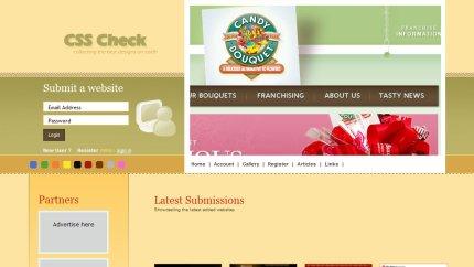 csscheck homepage