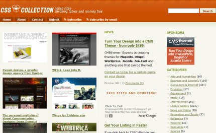 csscollection homepage