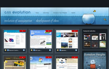 cssevolution homepage