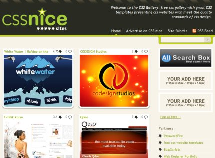 cssnice homepage