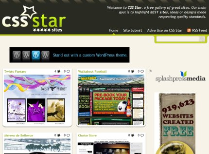 cssstar homepage
