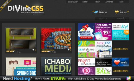 divinecss homepage
