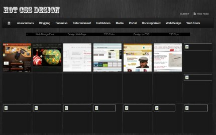 hotcssdesign homepage