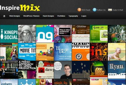 inspiremix homepage