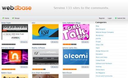 webdbase homepage