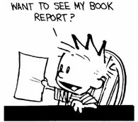 Calvin-book-report