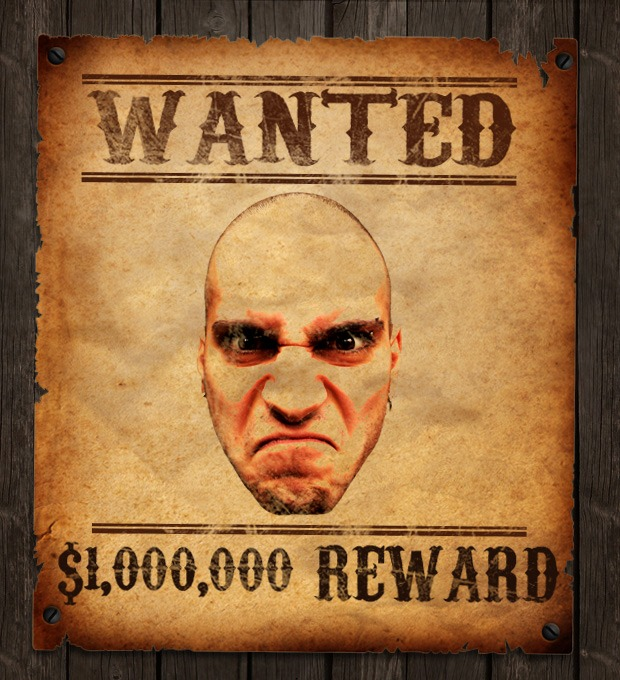 Old Western Wanted Poster Photoshop Tutorial