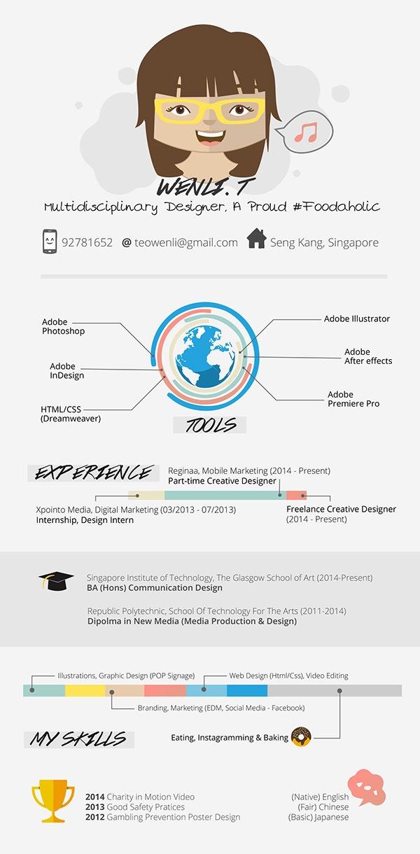 30 Creative Resume Designs for Inspiration - good resume design