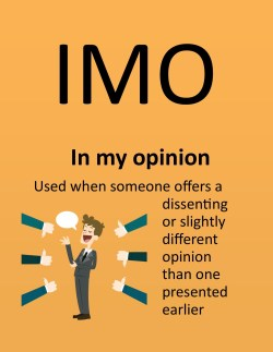 Small Of What Does Imo Stand For