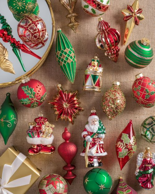 medium of christmas ornament sets