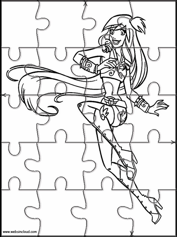 Angel\u0027s Friends Printable Jigsaw Puzzles to cut out 7