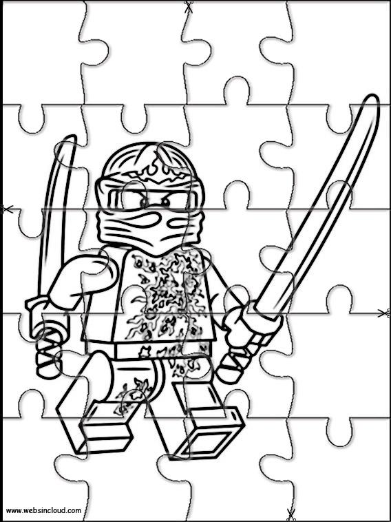 Puzzle Da Stampare E Ritagliare Lego Ninjago 4