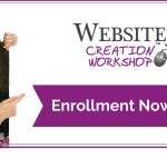 Class Enrollment is Open  for the Website Creation Workshop Spring 2016 Program