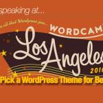 Speaking at WordCamp Los Angeles on WordPress Themes for Beginners