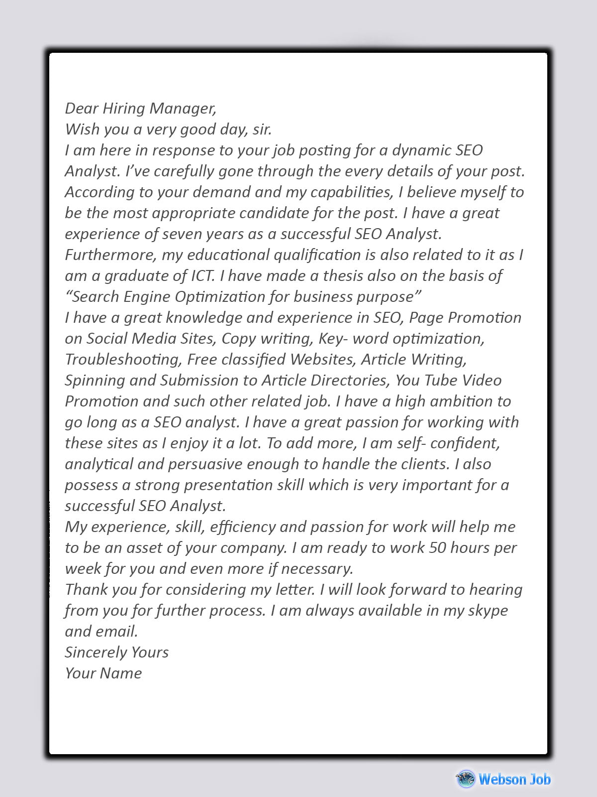 upwork cover letter examples