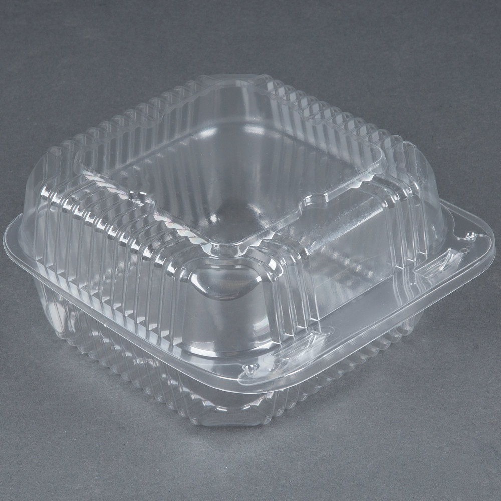 Durable Packaging Pxt 600 Duralock 6quot X 6quot X 3quot Clear