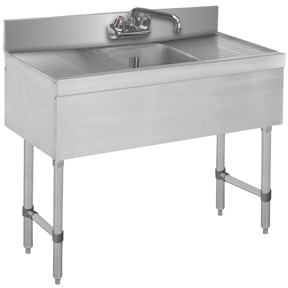 Advance Tabco Slb 31c Lite One Compartment Stainless Steel