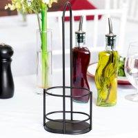 Tablecraft 918RBK Gemelli Olive Oil Bottle Rack