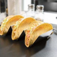Stainless Steel Taco Holder with 2 or 3 Compartments - 4 ...
