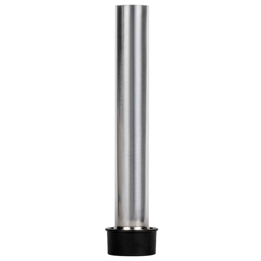 "Regency 8"" Stainless Steel Overflow Pipe for 1 1/2"" Drains"
