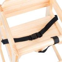 Lancaster Table & Seating Restaurant High Chair Seat Belt