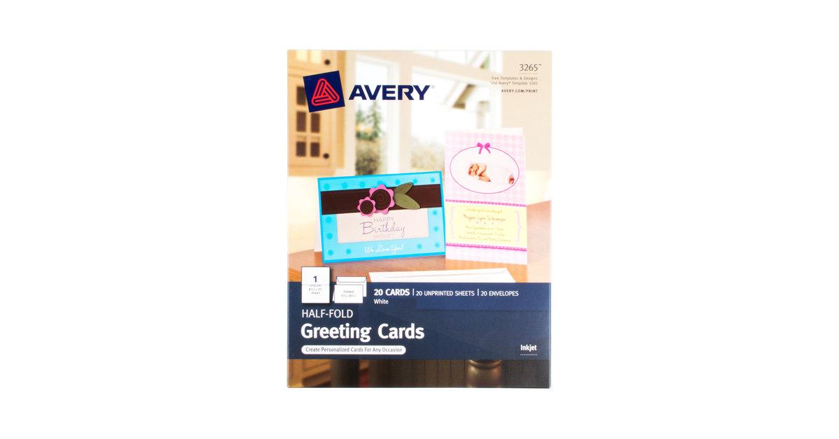 Avery 3265 5 1/2\