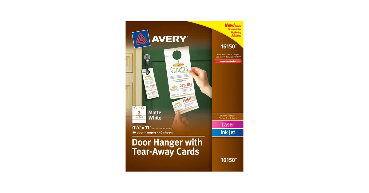 Avery 16150 4 1/4\