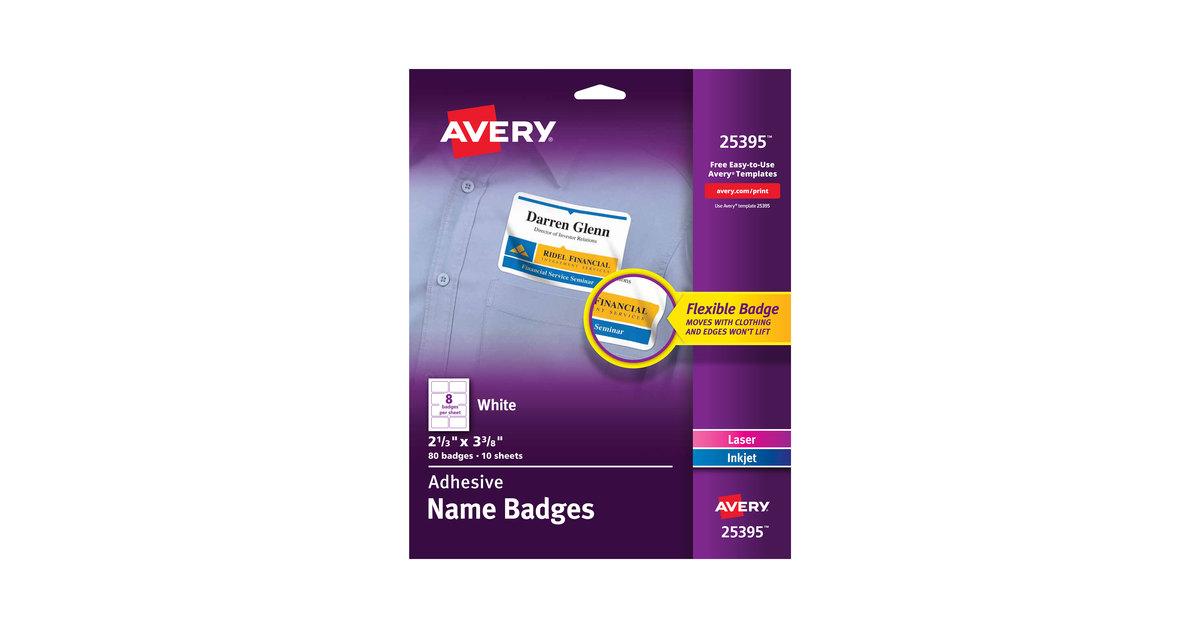 Avery 25395 2 1/3\