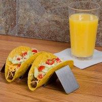 American Metalcraft HTSH3 Stainless Steel Half Size Taco ...