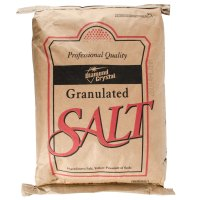 Diamond Crystal Bulk Non-Iodized Table Salt - 25 lb.