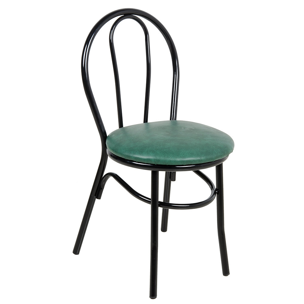 Lancaster Table Seating Green Hairpin Cafe Chair With 1