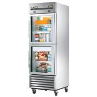Freezers: Glass Door Refrigerator Freezer